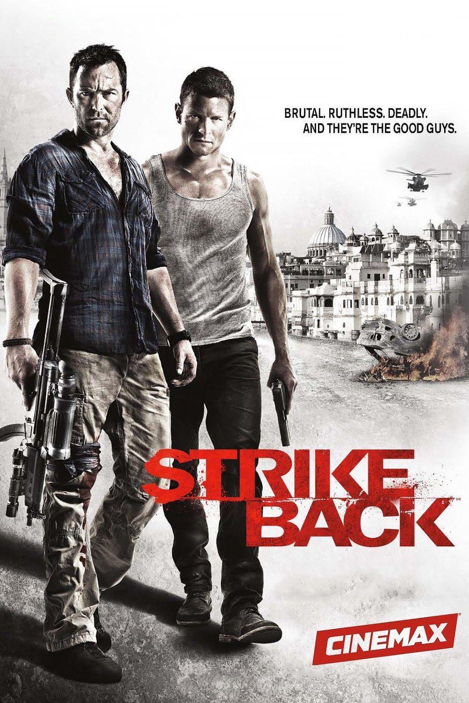 Cartel Temporada 2 de 'Strike Back'