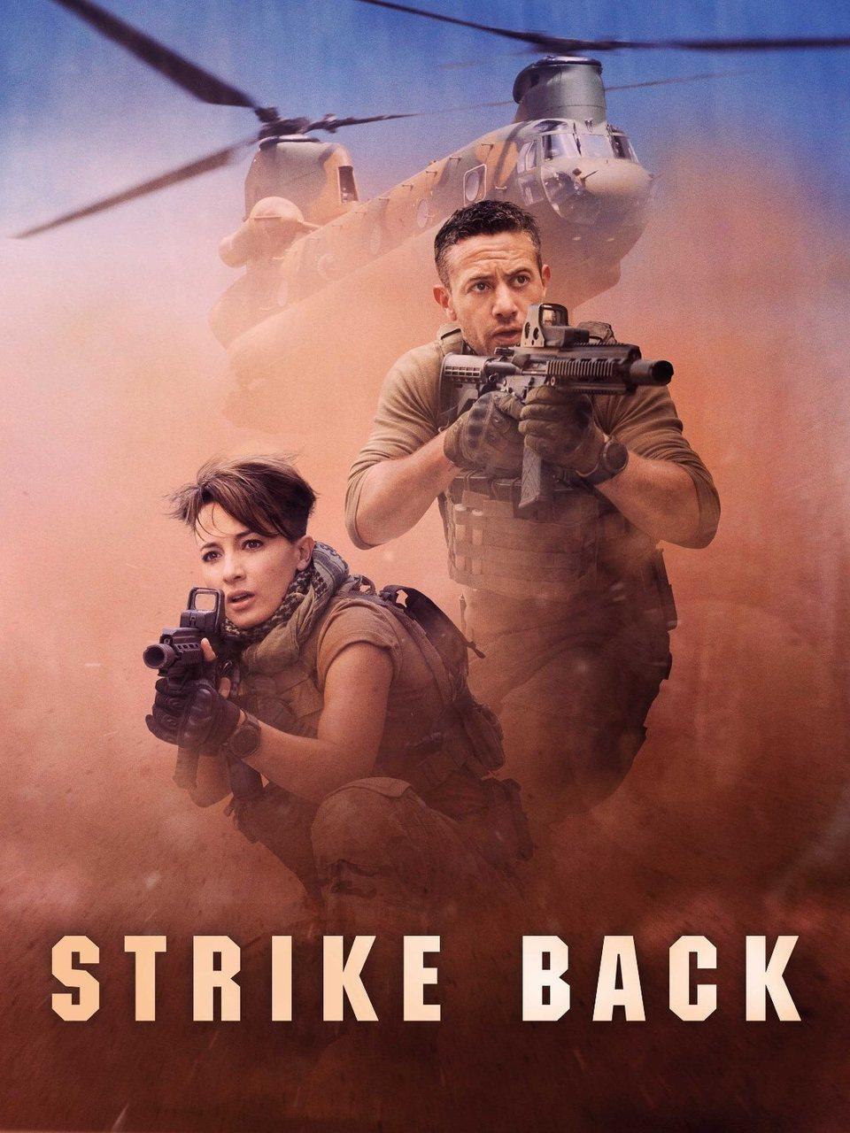 Cartel Temporada 6 de 'Strike Back'