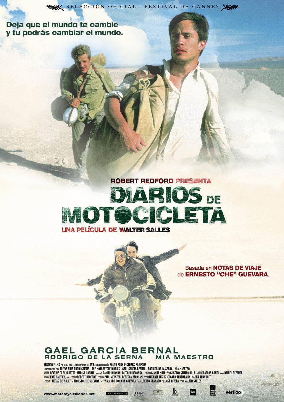Diarios de motocicleta 2004 pel cula ecartelera for Diarios de espectaculos online