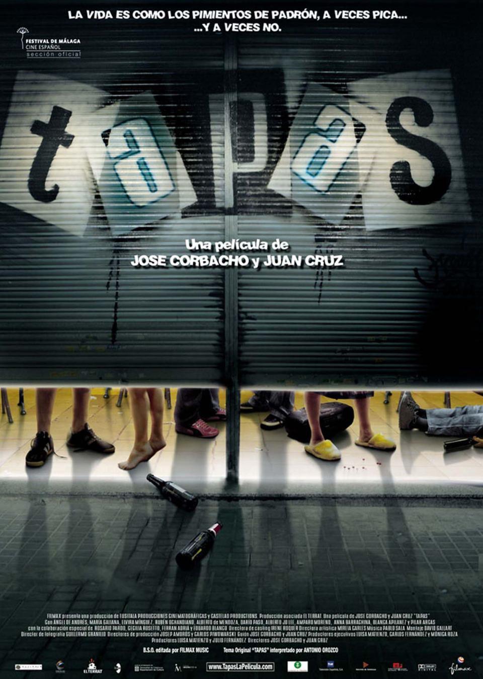 Cartel España de 'Tapas'