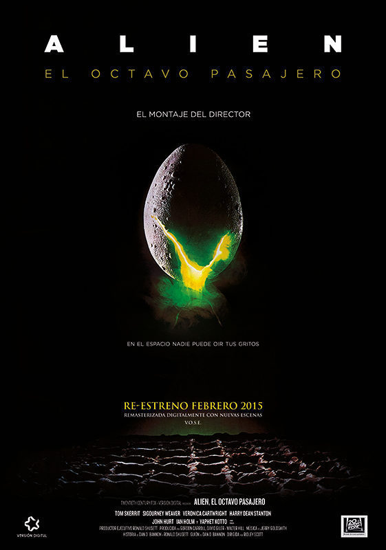 Image result for ALIEN EL OCTAVO PASAJERO CARTEL