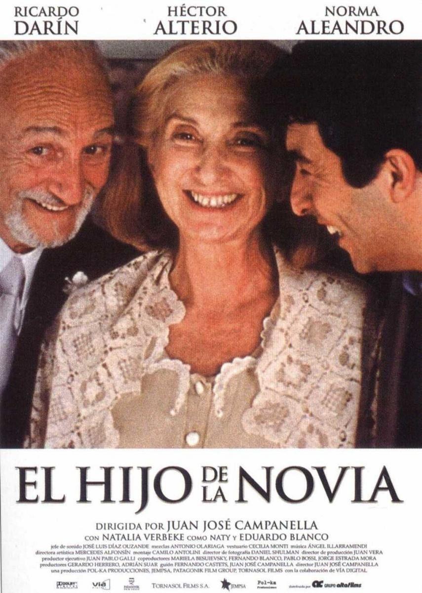 Cartel España de 'El hijo de la novia'