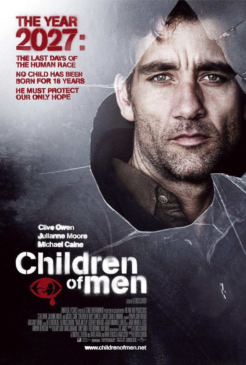 Cartel EEUU de 'Hijos de los hombres'