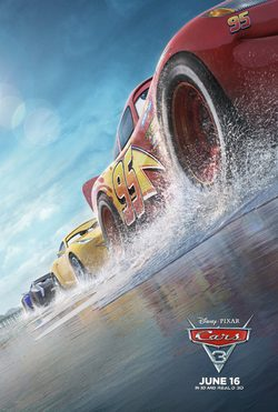 Cartel de Cars 3