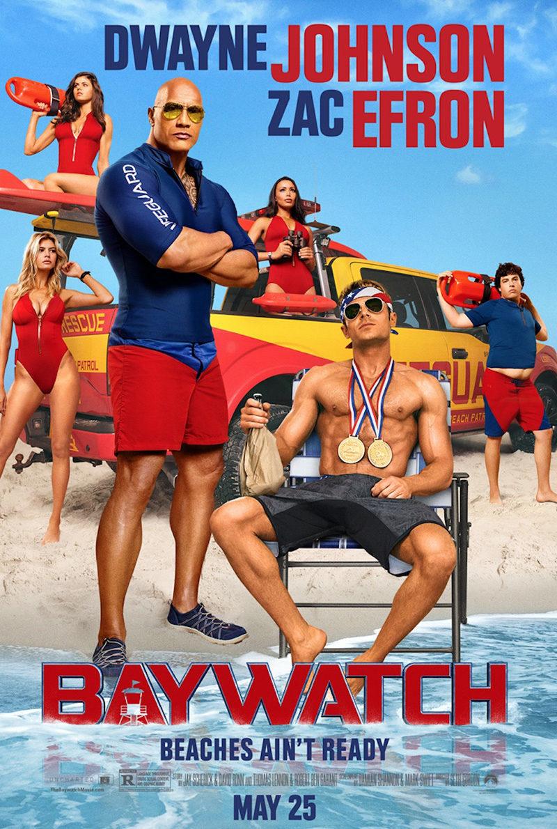 Cartel EEUU 'Baywatch: Los Vigilantes de la Playa' de 'Baywatch: Los vigilantes de la playa'