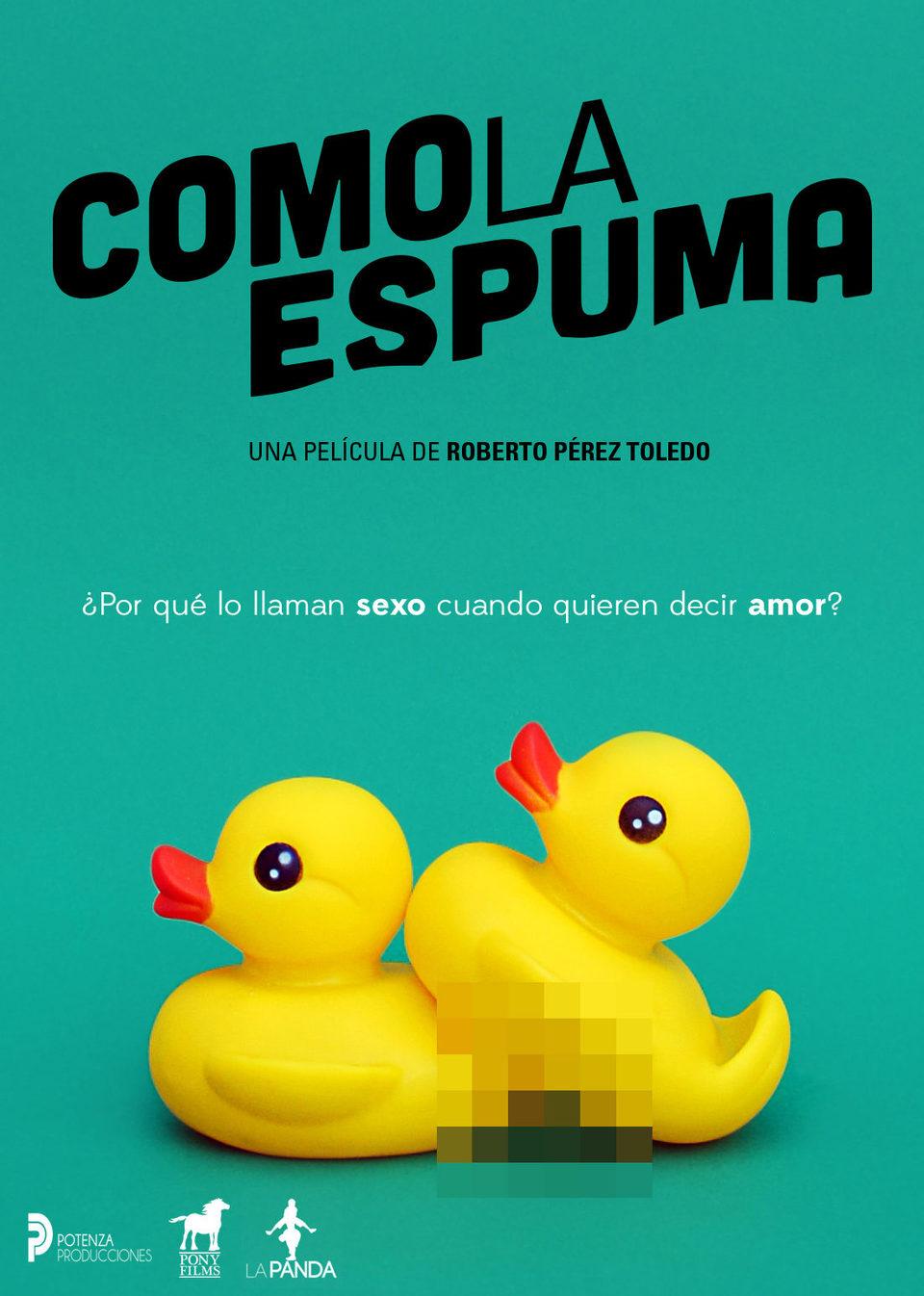 Cartel España de 'Como la espuma'