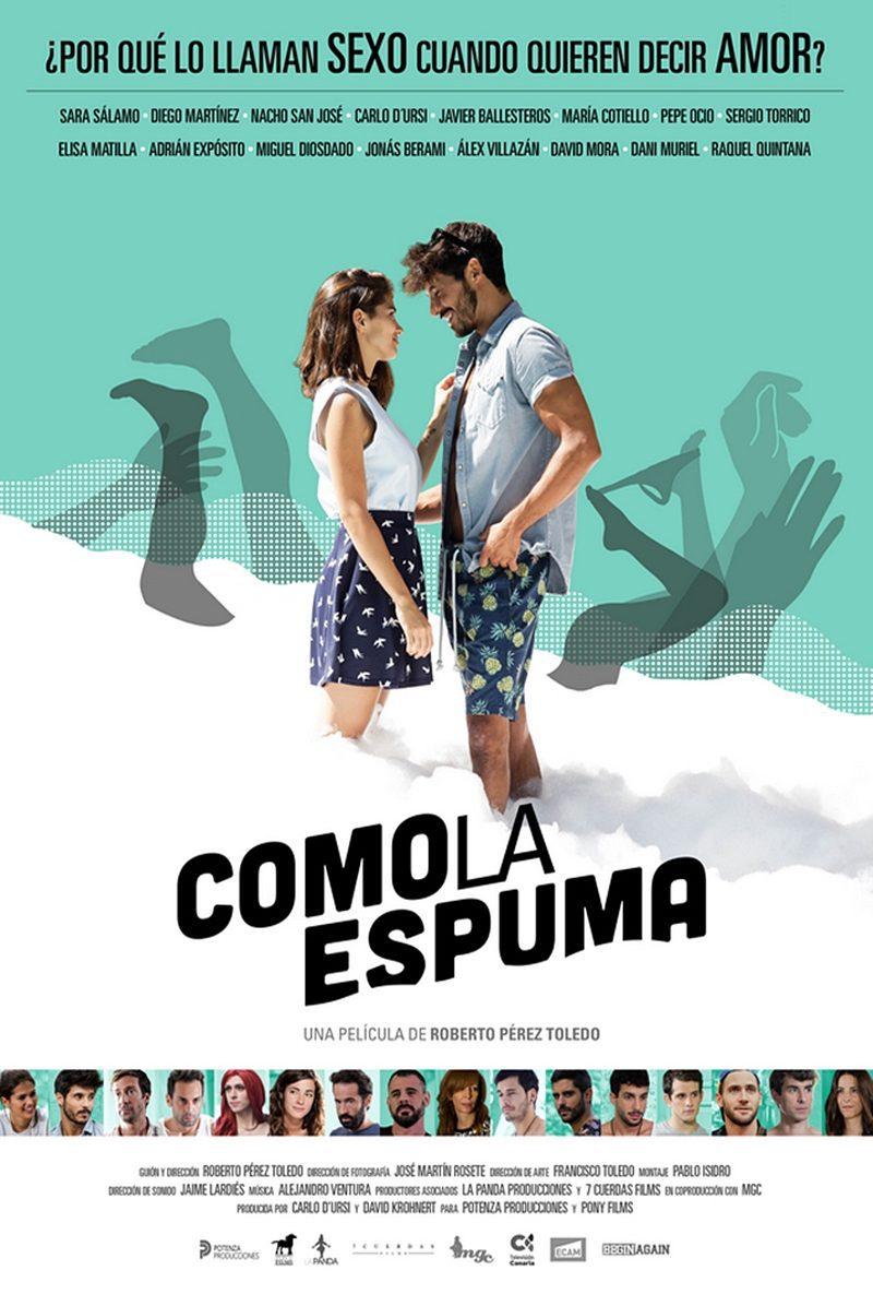Cartel España #2 de 'Como la espuma'