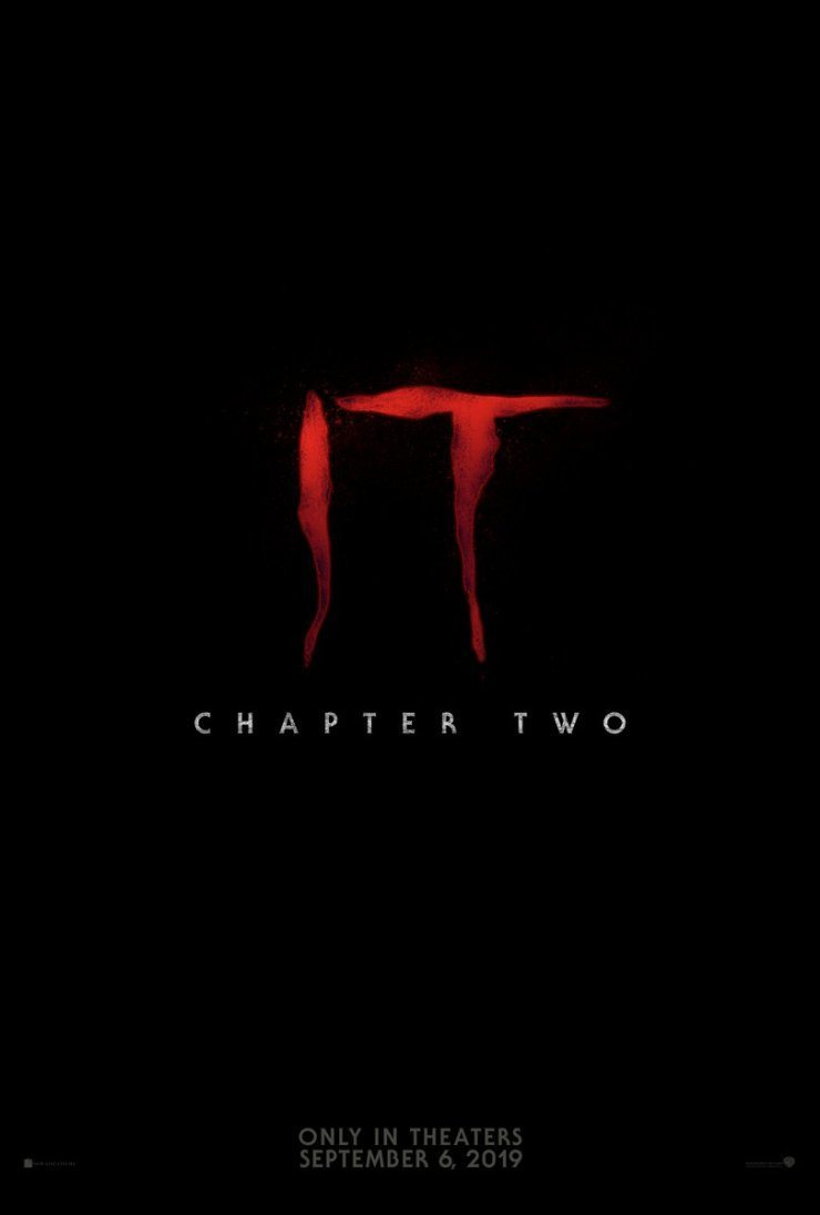 Cartel Estados Unidos (Teaser) de 'It - Capítulo 2'
