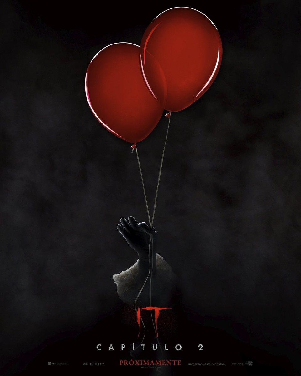 Cartel Teaser español de 'It - Capítulo 2'