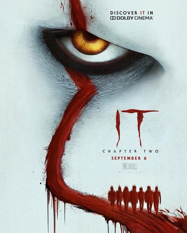 Cartel Poster EEUU #2 de 'It - Capítulo 2'
