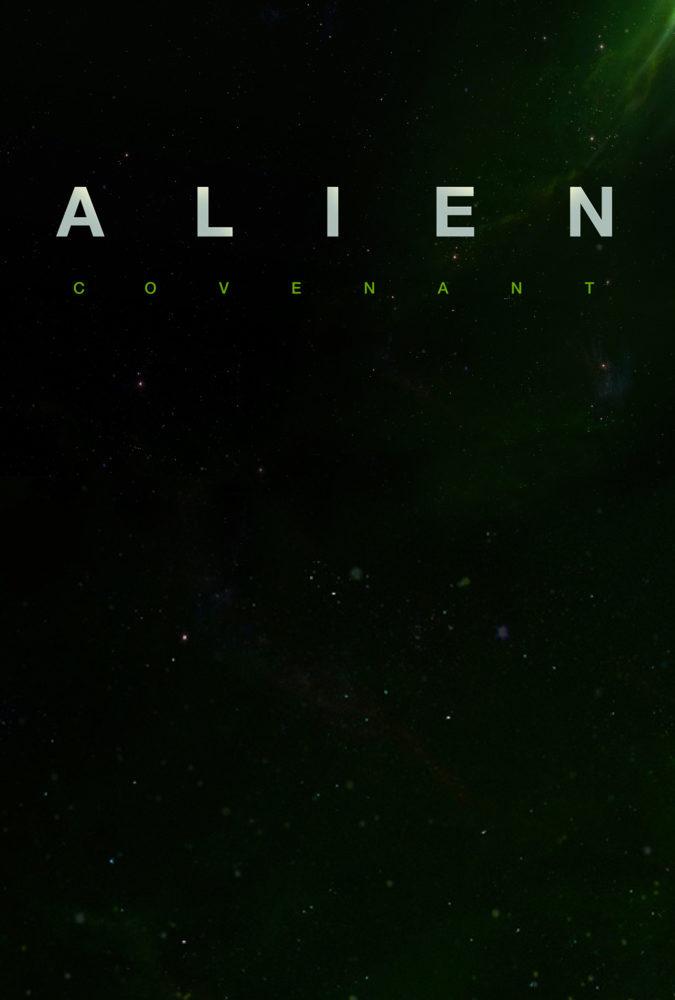 Cartel Provisional de 'Alien: Covenant'