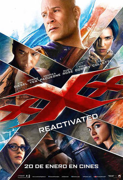 Cartel de xXx: Reactivated