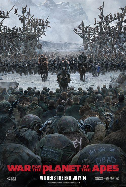 Cartel Póster #3 de 'La guerra del planeta de los simios'