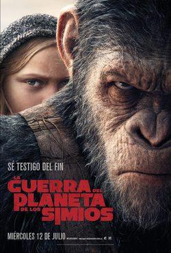 imagen La guerra del Planeta de los Simios (2017) Online
