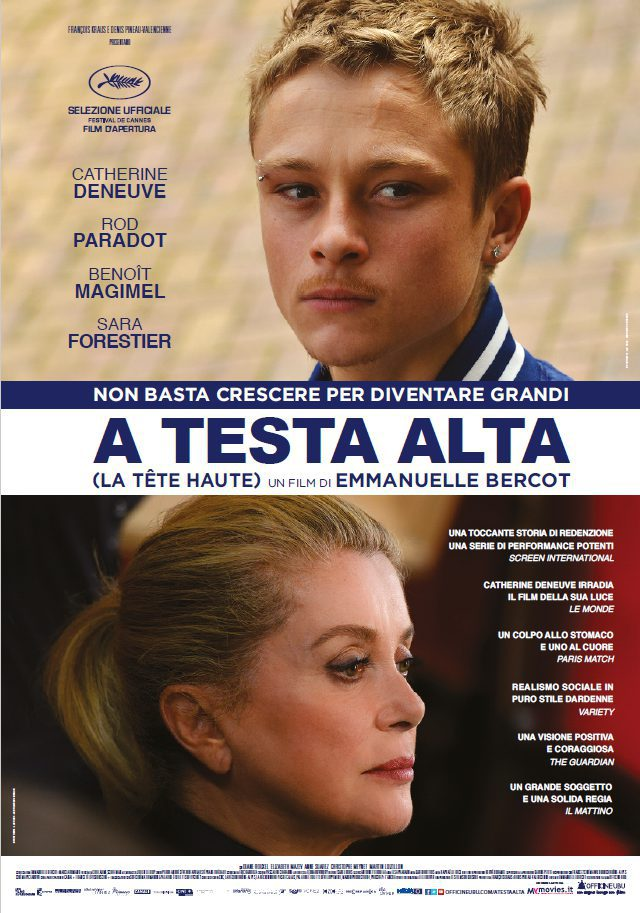 Cartel Italia de 'La cabeza alta'