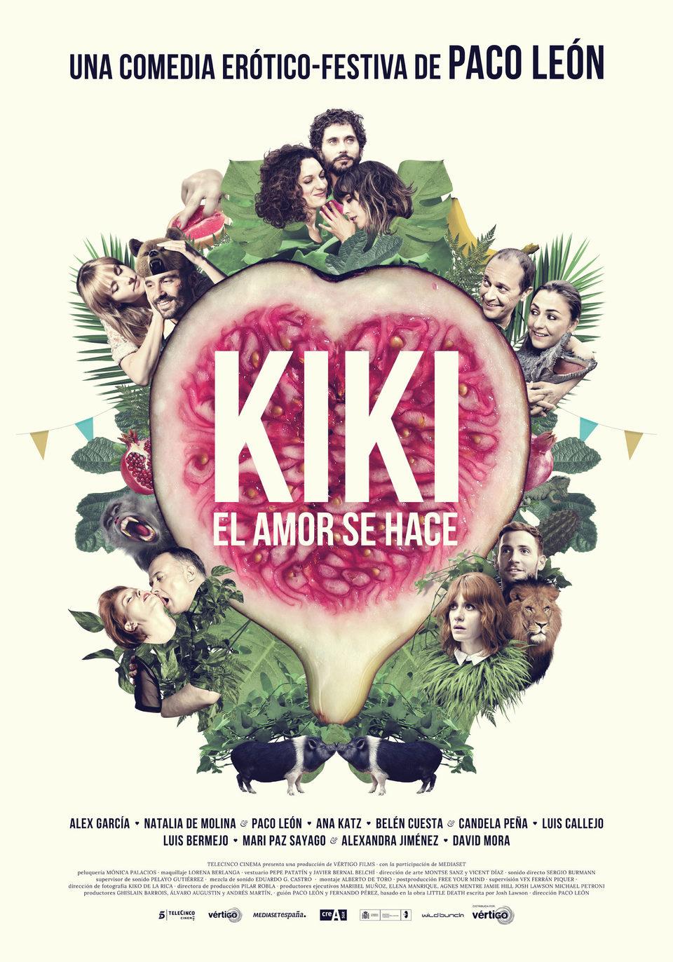 Cartel Oficial de 'Kiki, el amor se hace'