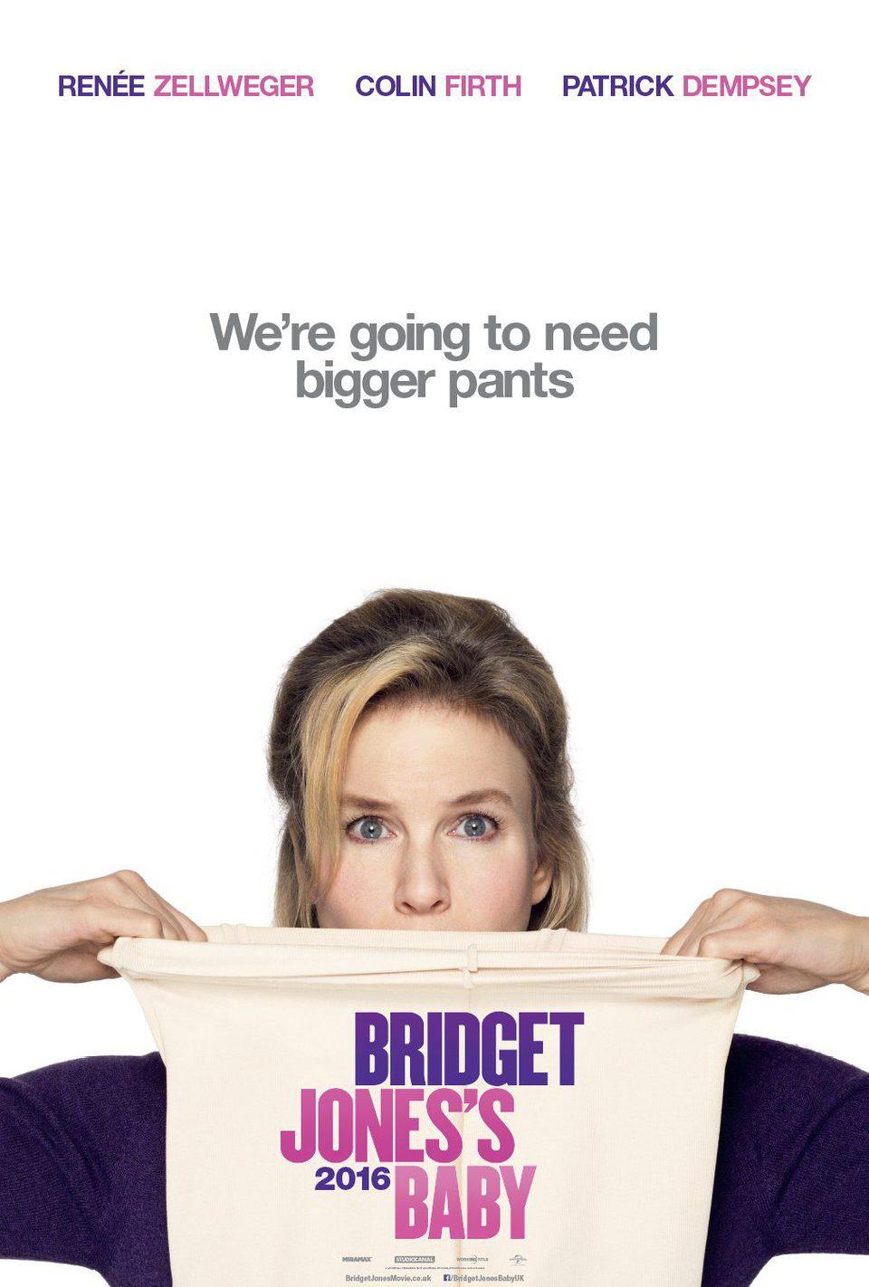 Cartel Teaser EE.UU. de 'Bridget Jones' Baby'