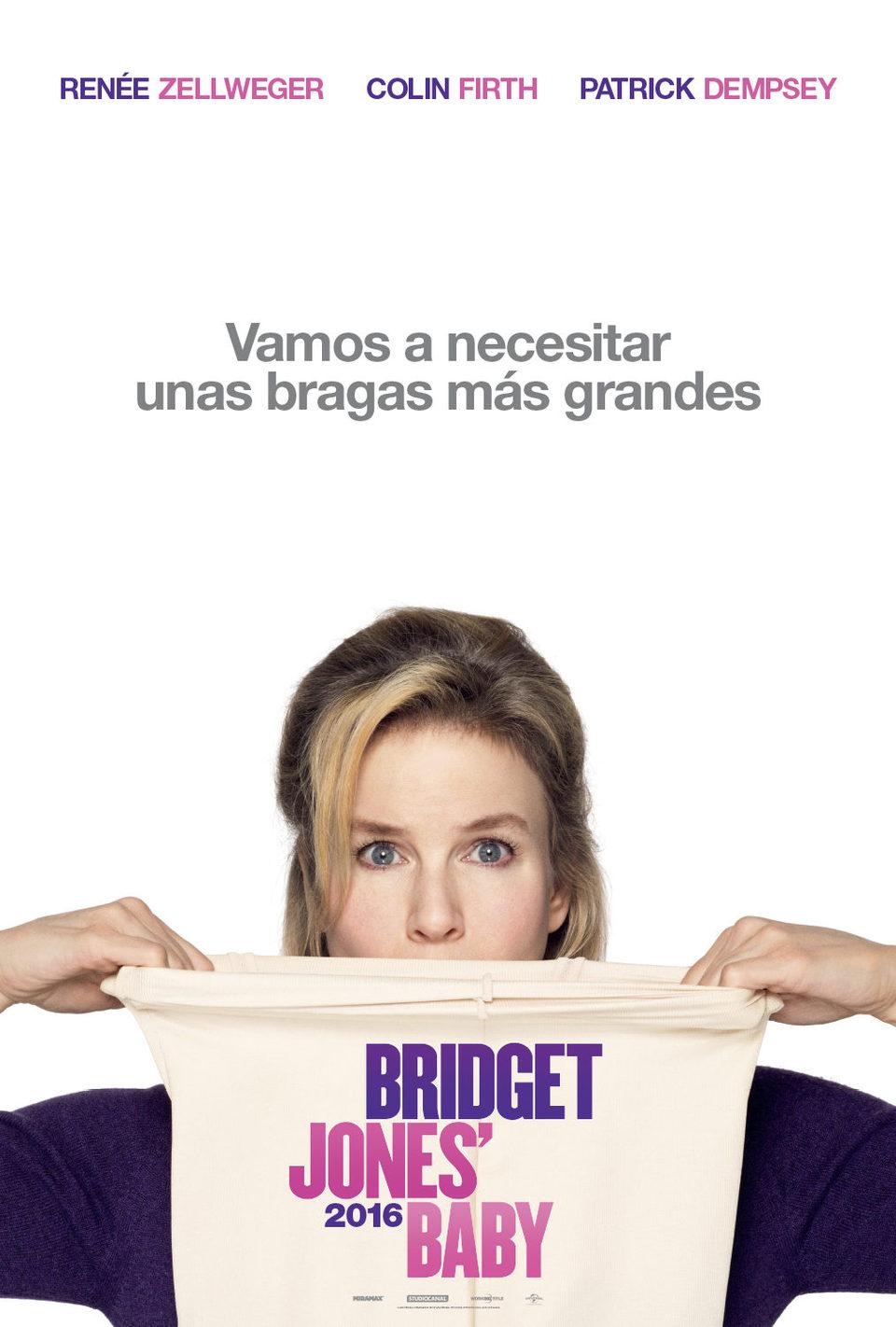 Cartel Teaser España de 'Bridget Jones' Baby'