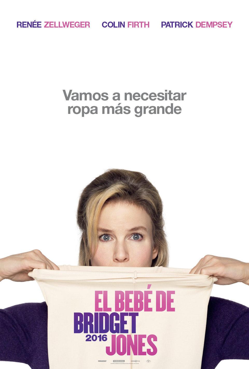 Cartel Teaser México de 'Bridget Jones' Baby'