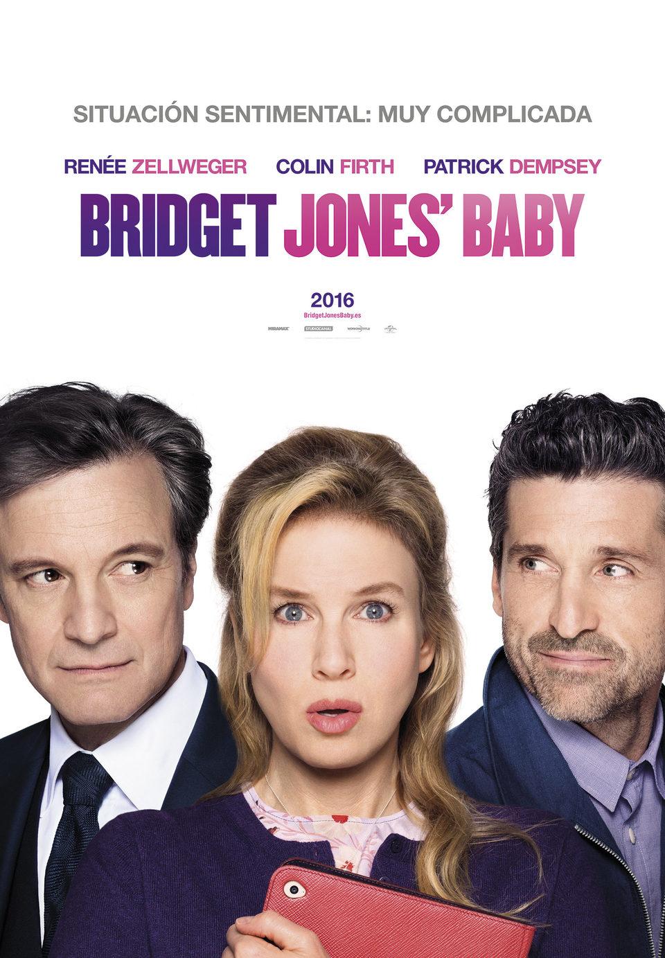 Cartel España #1 de 'Bridget Jones' Baby'