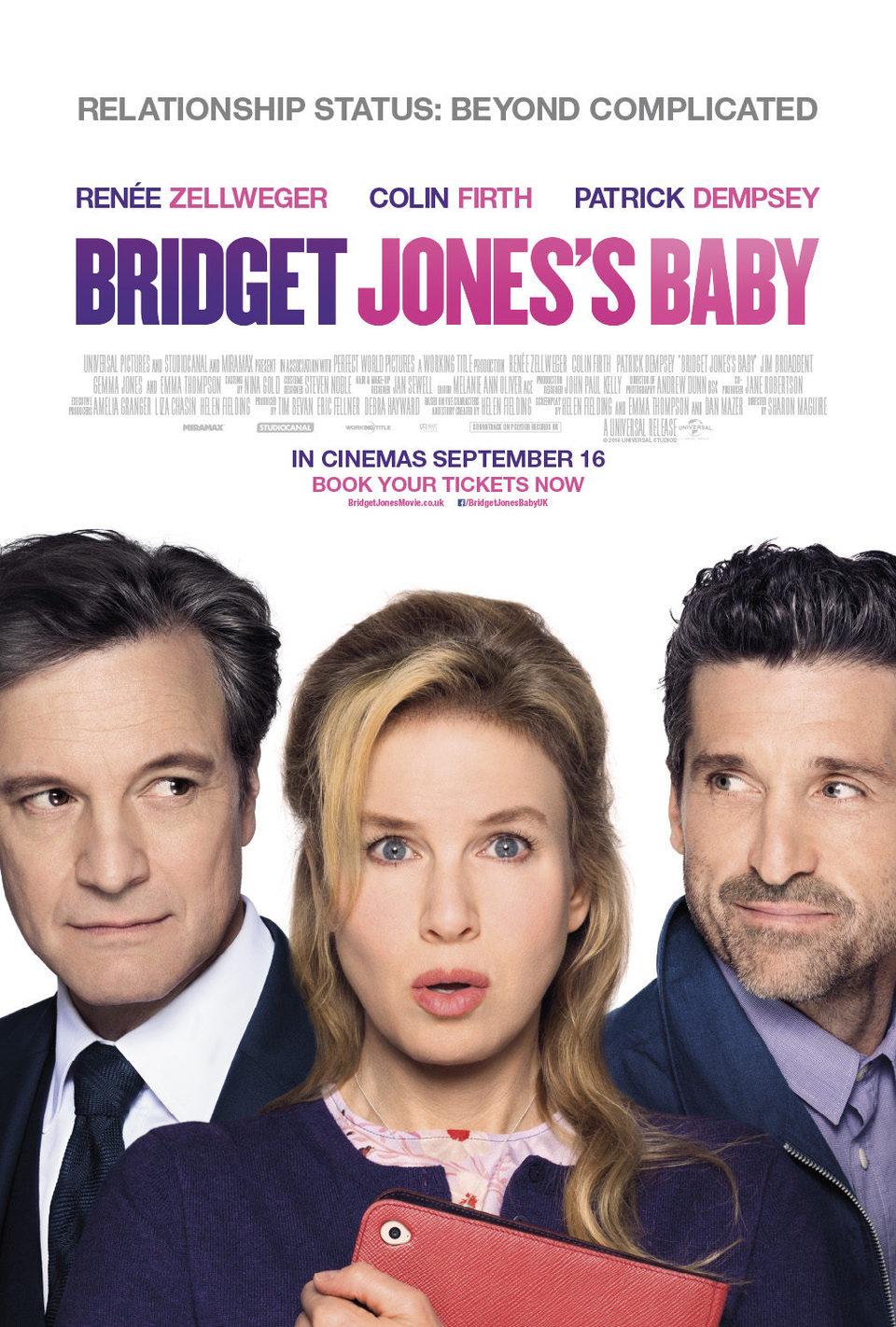 Cartel U.K de 'Bridget Jones' Baby'