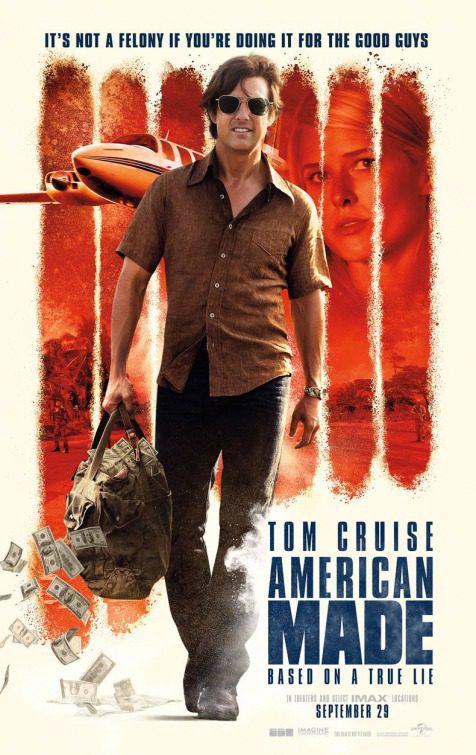 Cartel American Made Póster de 'Barry Seal: El traficante'