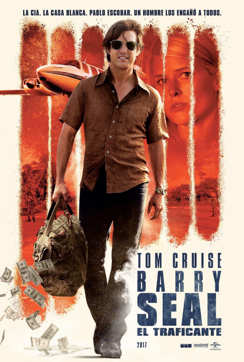Cartel España de 'Barry Seal: El traficante'