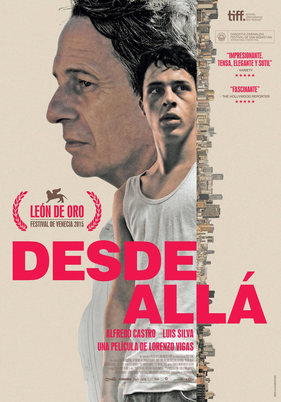 Cartel España de 'Desde allá'