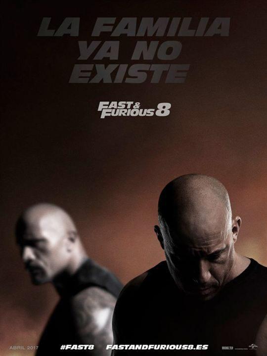 Cartel E.E.U.U. de 'Fast & Furious 8'