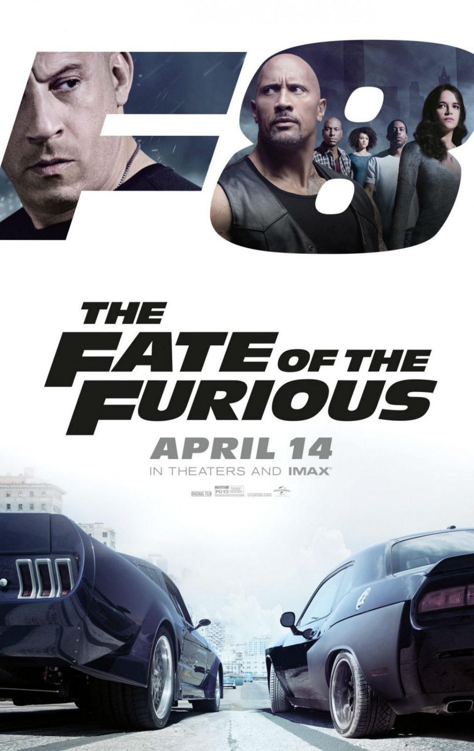 Cartel E.E.U.U. #2 de 'Fast & Furious 8'