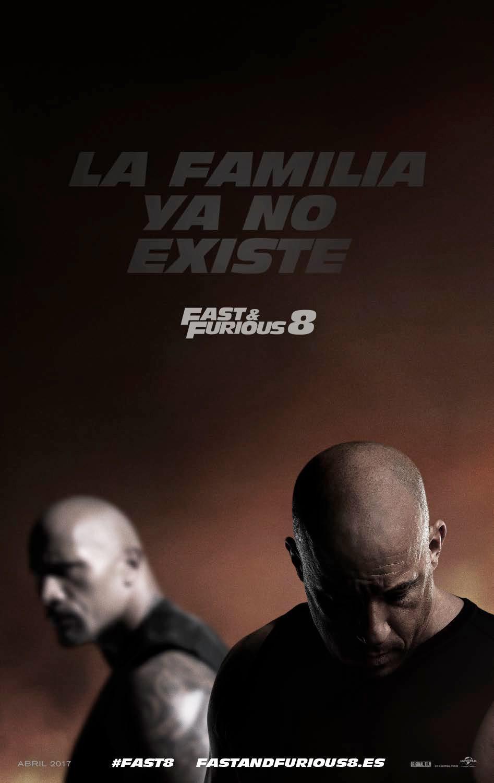 Cartel Cartel España de 'Fast & Furious 8'