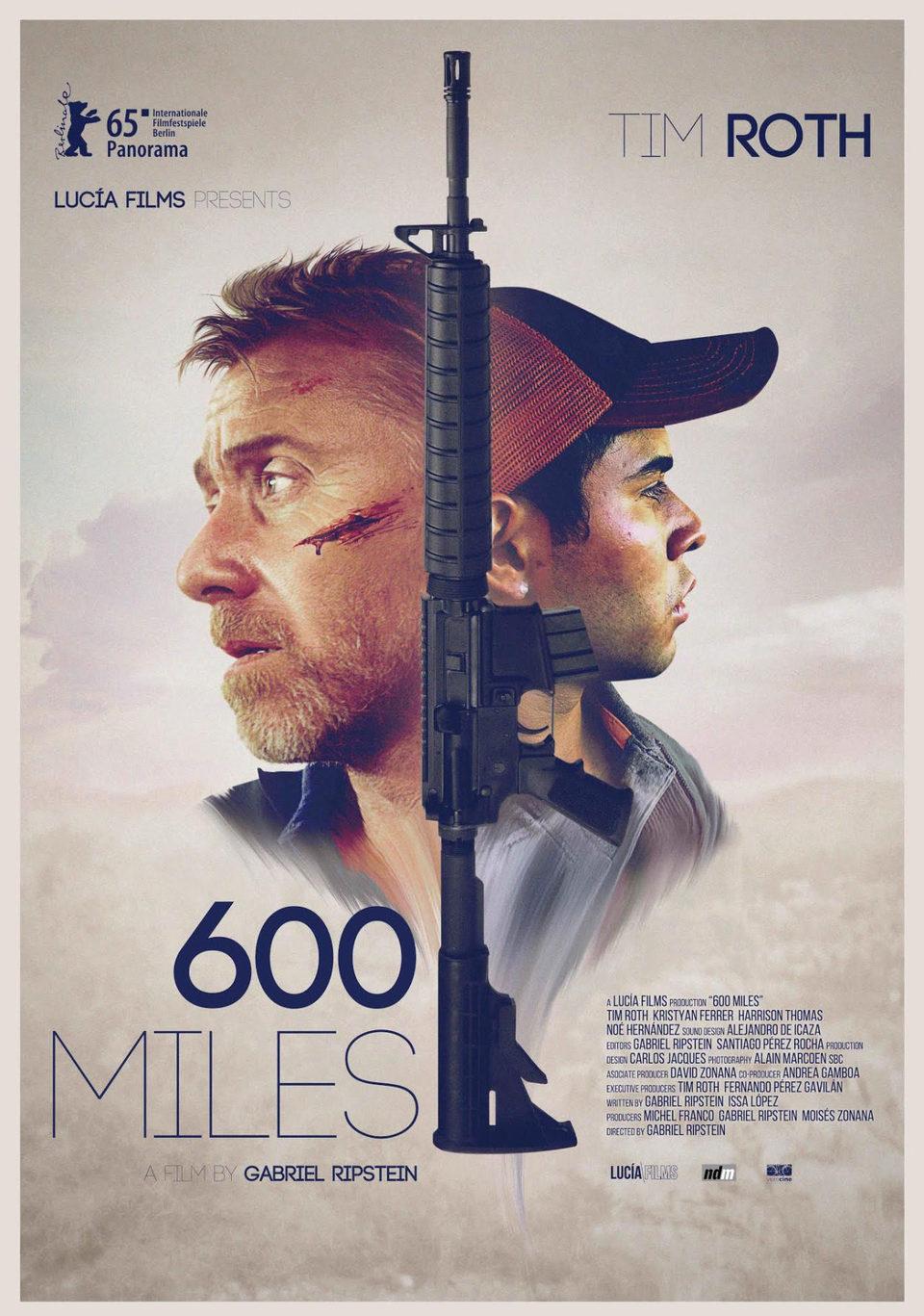 Cartel Berlinale de '600 millas'