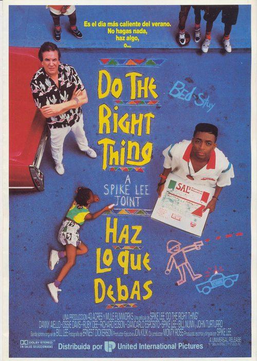 Haz Lo Que Debas 1989 Película Ecartelera