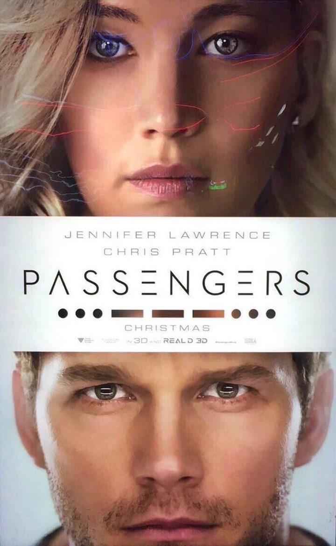 Cartel Teaser EEUU de 'Passengers'