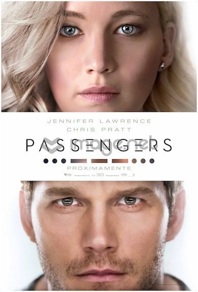 Cartel España de 'Passengers'