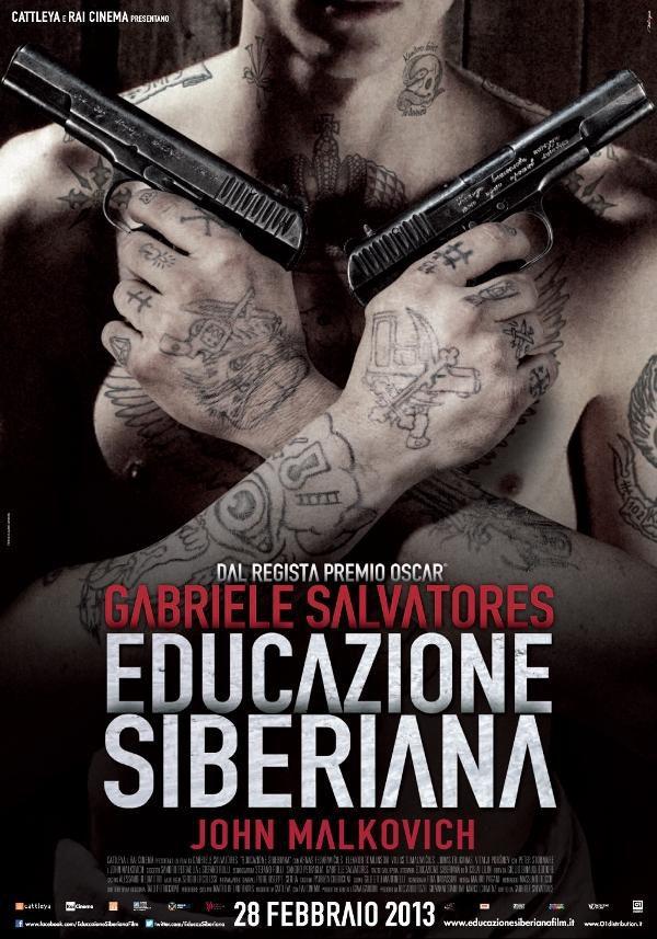 Cartel Italia de 'Educación Siberiana'