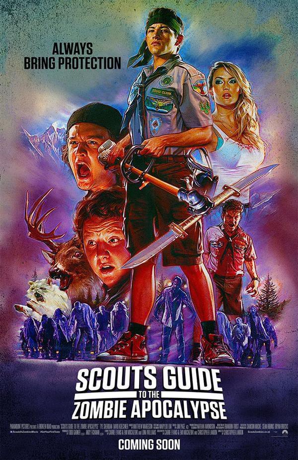 Cartel Estados Unidos #3 de 'Scouts Guide to the Zombie Apocalypse'