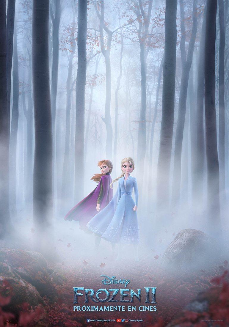 Cartel PÓSTER ESPAÑA de 'Frozen 2'