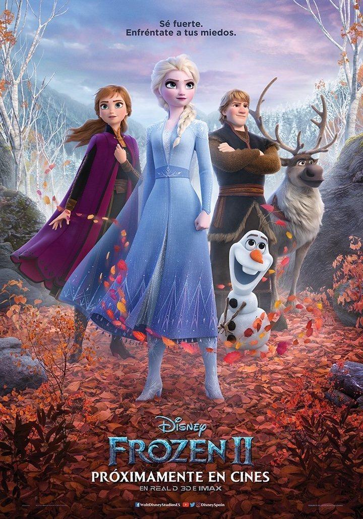 Cartel Póster España #2 de 'Frozen 2'