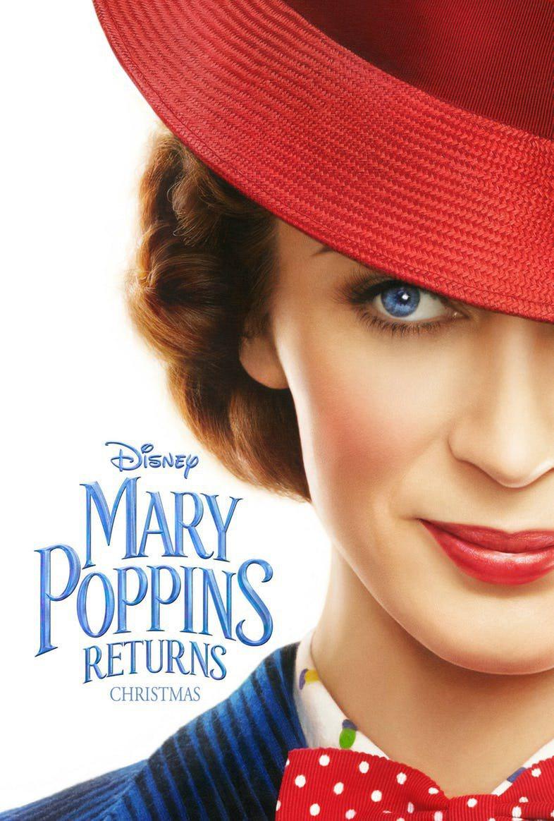 Cartel Mary Poppins Returns de 'El regreso de Mary Poppins'