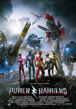Cartel de Power Rangers