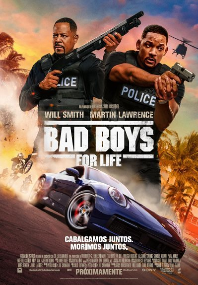 Cartel Cartel español de 'Bad Boys For Life'