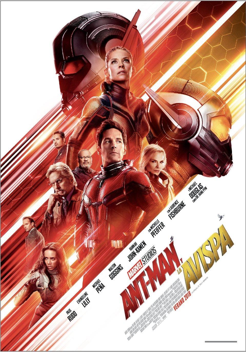 Cartel España de 'Ant-Man y la Avispa'