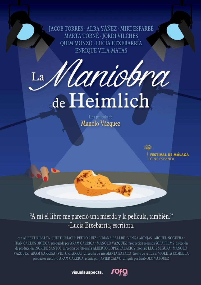 Cartel España de 'La maniobra de Heimlich'