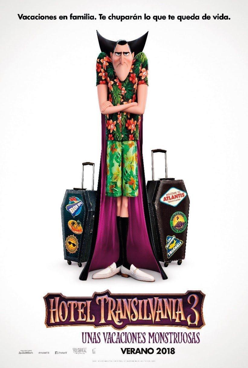 Cartel Cartel teaser de 'Hotel Transilvania 3: Unas vacaciones monstruosas'