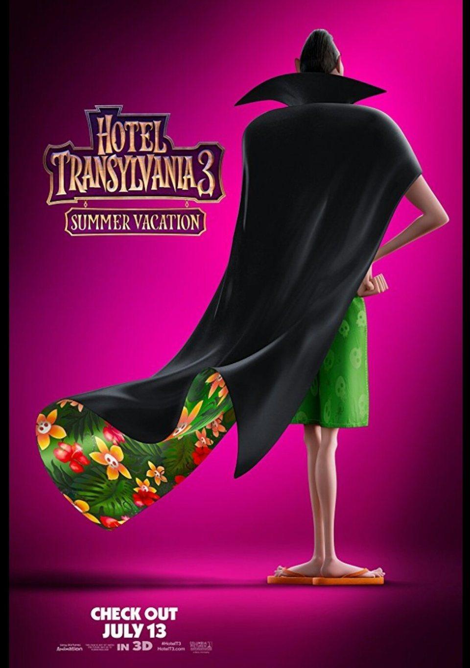 Cartel Cartel teaser 2 de 'Hotel Transilvania 3: Unas vacaciones monstruosas'