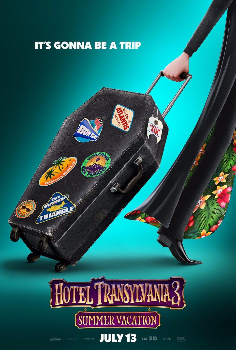 Cartel Cartel teaser 3 de 'Hotel Transilvania 3: Unas vacaciones monstruosas'