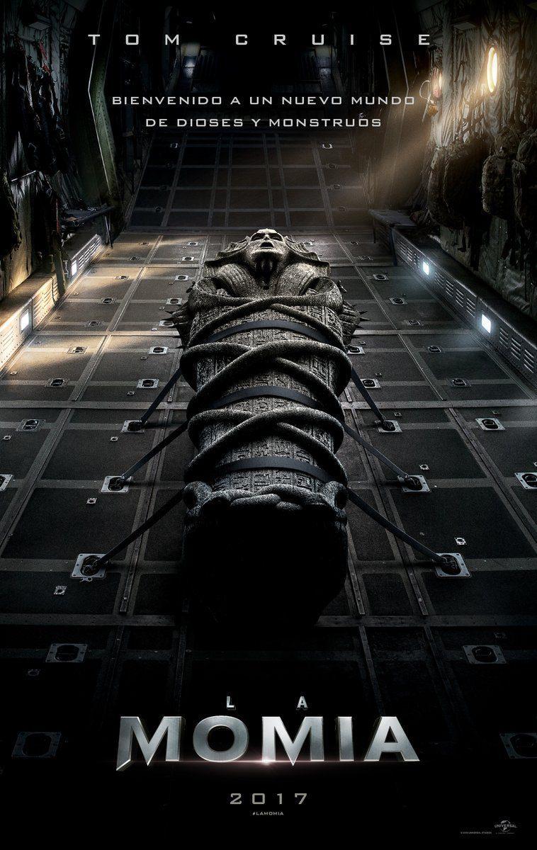 Cartel España de 'La momia'
