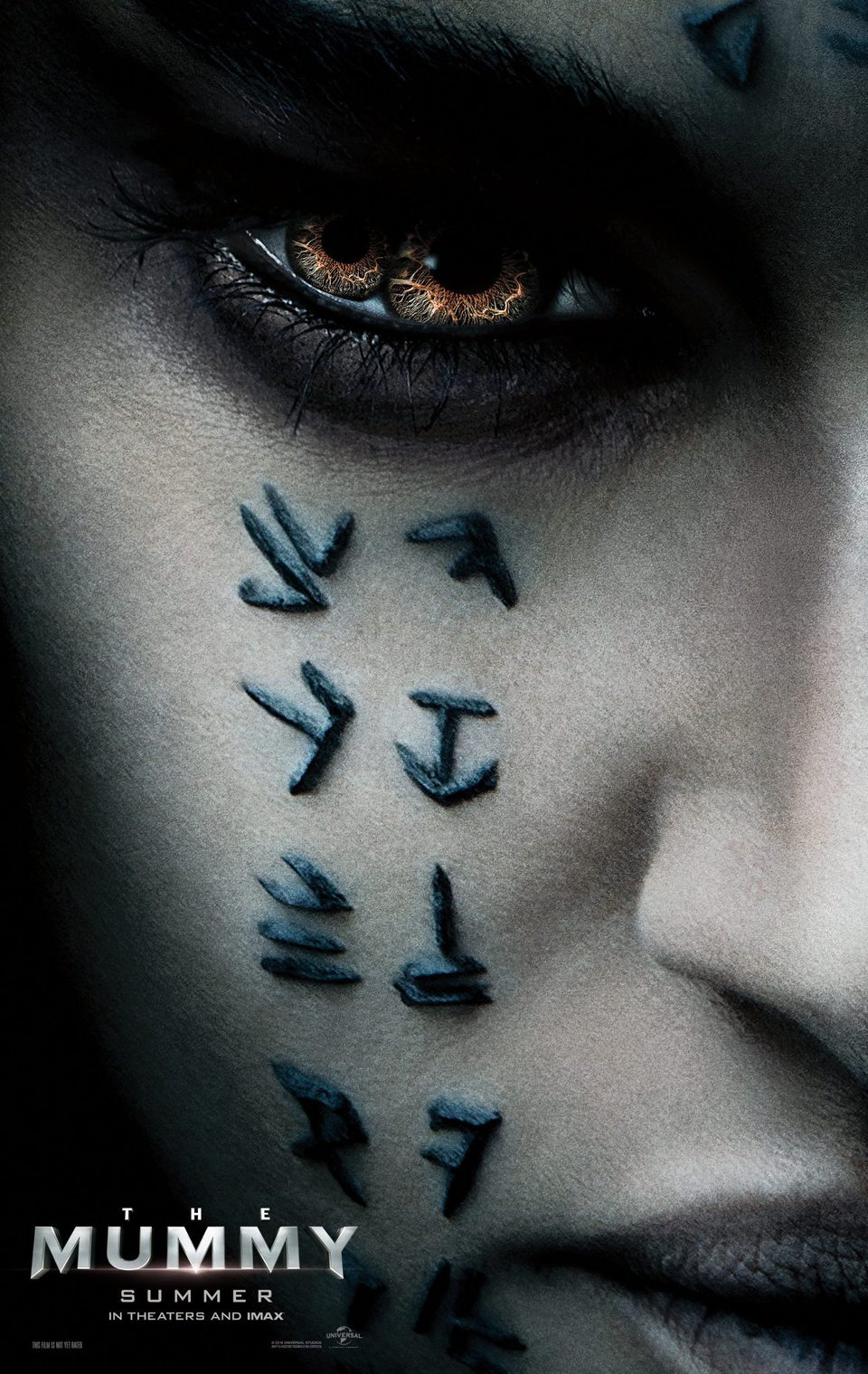 Cartel Poster EEUU de 'La momia'