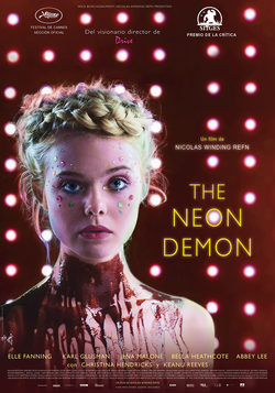 Cartel de The Neon Demon